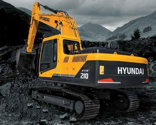 Hyundai R210 Used Excavator, Excavator And Earth Moving
