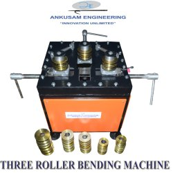 Adjustable Roller Pipe and Tube Bending Machine, Model Name/Number: Aetrbm