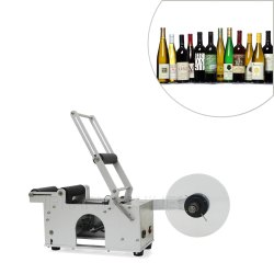 Semi-automatic Round Bottle Labelling Machine