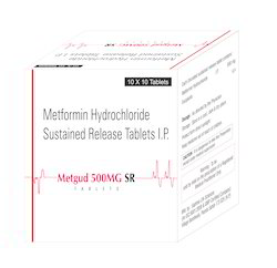 Metfromin Hydrochloride Sustained Release Tablets I.P