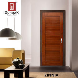 Zinnia Veneer Decorative Wooden Door