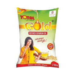 Total Gold Soyabean Refined Oil, Packaging Size: 15 liter