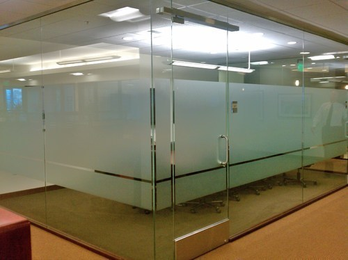 White PVC Frosted Film services, for Office