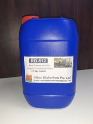 Liquid Less Than 2 Membrane Cleaner (Acidic), Packaging Type: Can, Grade Standard: Technical Grade