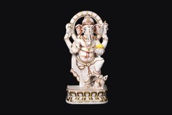 Tejasvi Sand Stone Standing Lord Ganesh Moorti, Packaging Type: Carton
