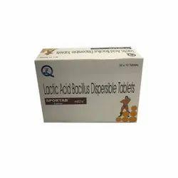 Lactic Acid Bacillus Dispersible Tablet