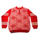 Red Boys Woolen Sweater
