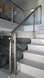 Stainless Steel Hand Rail For Stairs