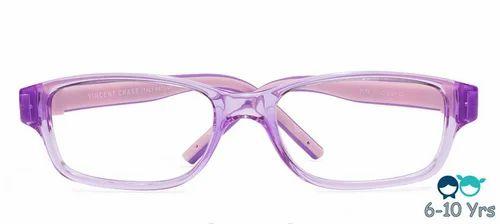 89023c73a88a Vincent Chase Purple Transpa Pink Full Rim Rectangle Kids
