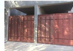 Iron Slide Door