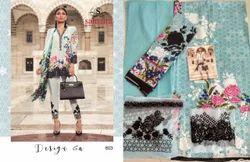 Embroidered Mina Hasan Suit Salwar Fabric