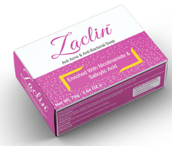 Zaclin Anti Acne & Anti-Bacterial Soap