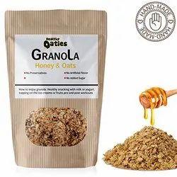 Healthy Honey And Oats Granola