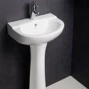 Hindware Mario Full Pedestal Wash Basin