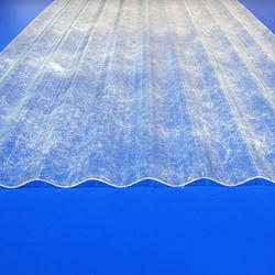 Transparent FRP Roofing Sheet