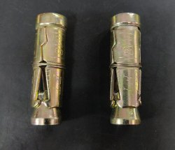 Sangam Steel Anchor Fasteners Shell, Thickness: 8mm, Size: 8mm