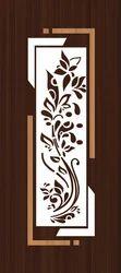 royal Membrane Door Digital Print, For Home, Door Height: 84