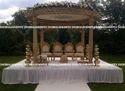 Traditional Wood Wedding Mandap
