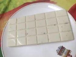 Rectangular White Chocolate Bar with/without dryfuits