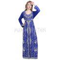 Royal Blue Takchita For Ladies