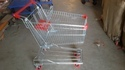 Stainless Steel And Mild Steel Shopping Trolley Capacity : 0-50 Kg