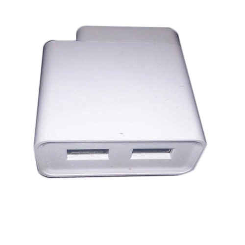 White USB Dual Port Mobile Cabinet