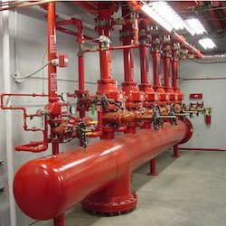 Mild Steel Fire Protection System, for Commercial, Industrial