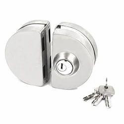 Glass Sliding Door Lock (For Over Lap Glass)