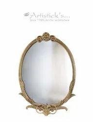 Brass Designer Mirror