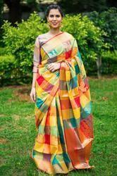 Kanchipuram Silk Saree (DNHE5)