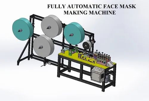 4 Ply Face Mask Machine