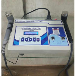 Two Channel Ultrasonic Therapy Machine