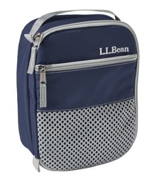 Blue Deluxe Lunch Bag