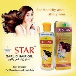 Hair Oil with Garlic & Rosemary