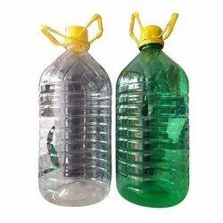 5 Liter Plastic PET Bottles, For Water Storage, Use For Storage: Oils