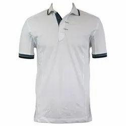 Cotton Plain Men's Polo T Shirt