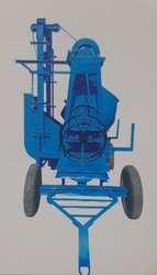 10/7 Concrete Mixer Machine Without Hopper with lift