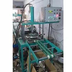 Fully Automatic Hydraulic Thali Pattal Making Mach