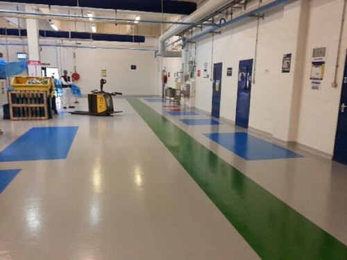 Flowcrete Epoxy Flooring, Grade Standard: Industrial