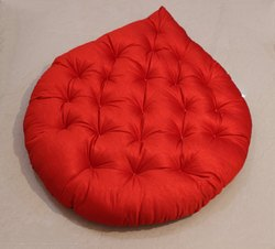 Red Round Cushion