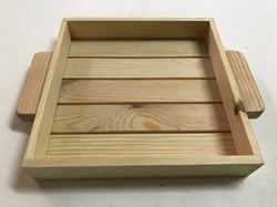 Pine Wood Stripes Tray