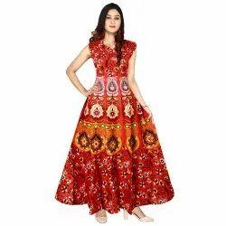 Cotton Round Ladies Dress