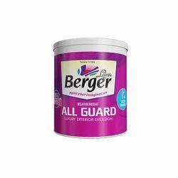 Berger All Guard Exterior Paint, Packaging Size: 1 Litre