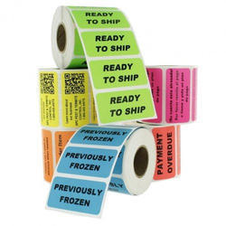 Multicolor Printed Label