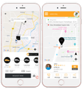 Ola Uber -Taxi / Cab booking Mobile App Development Services in UK