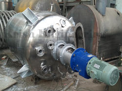 Stainless Steel Pressure Tank With Stirred