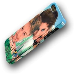 Plastic Printed Mobile Covers, Size: 5-6 Inch