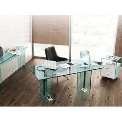 Corporate Offices Glass Furniture