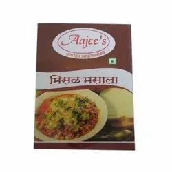 Aajee's Misal Masala, Packaging Size: 10 gm