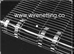 Enrober Wire Conveyor Belt